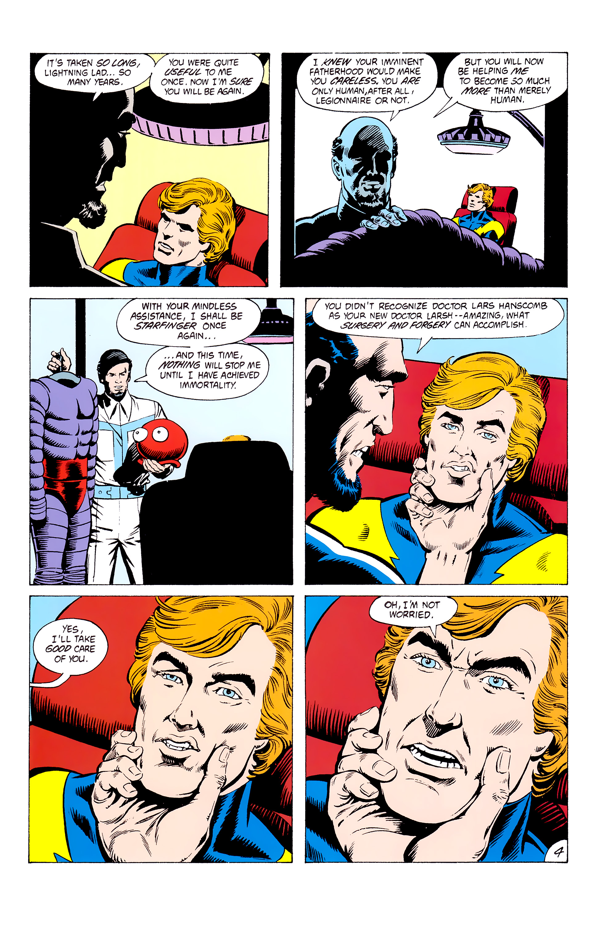 Legion of Super-Heroes (1980) _Annual_3 Page 4
