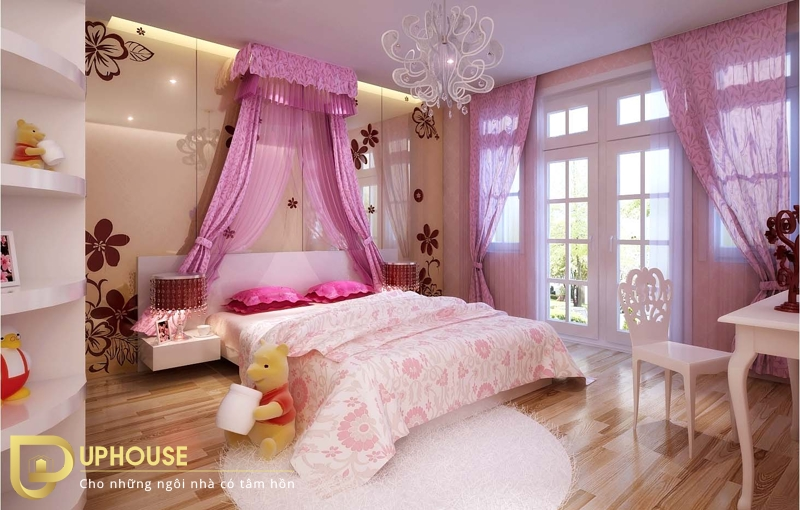 Phòng ngủ tân cổ điển 02