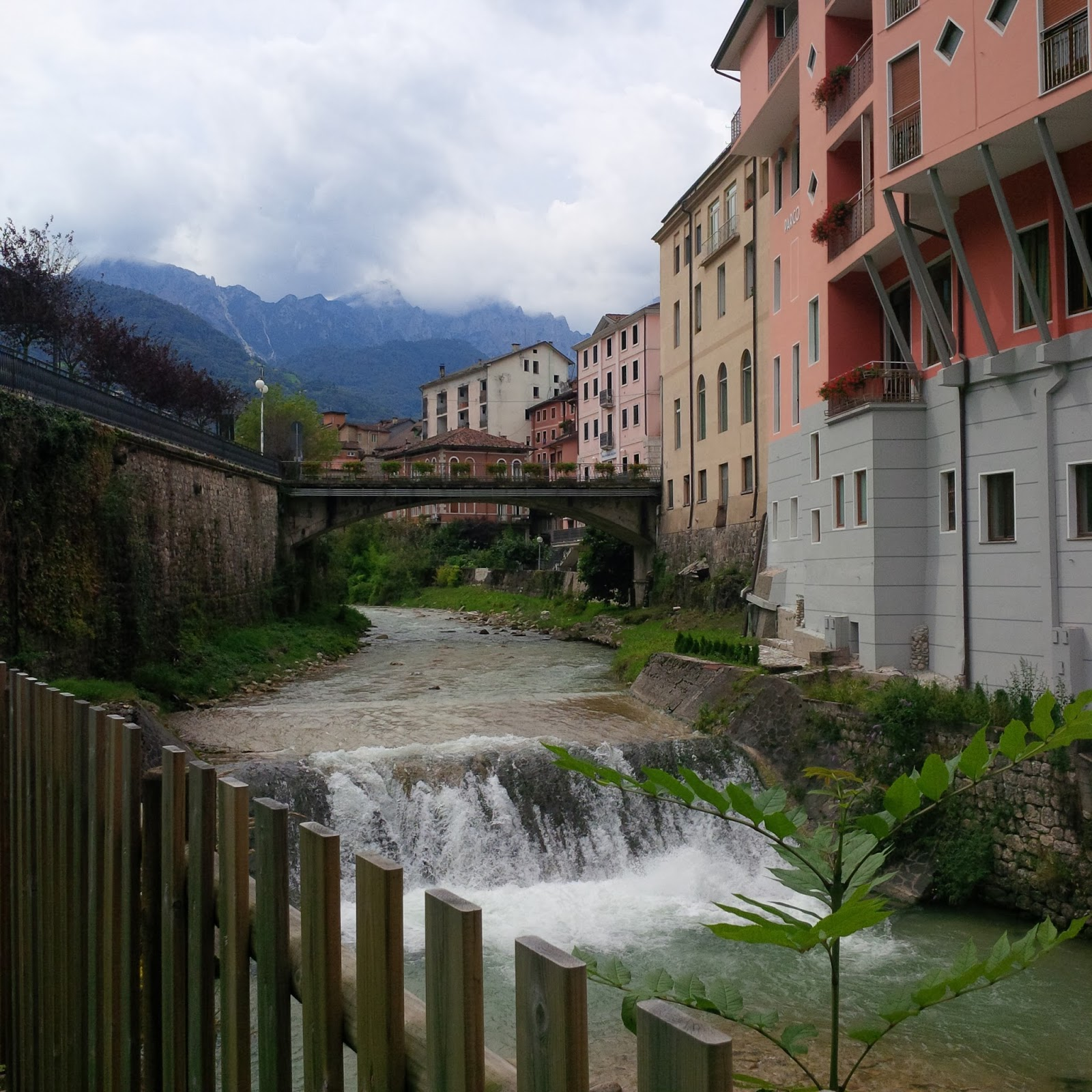 A view of Recoaro Terme, Veneto, Italy - www.rossiwrites.com