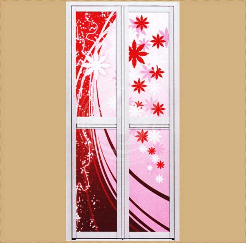 pintu cermin aluminium 1