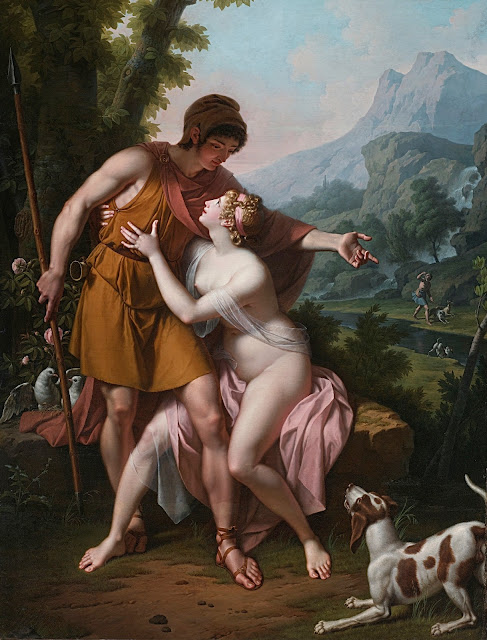 Jean-Baptiste Regnault: Venere e Adone