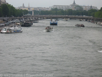 River in Paris