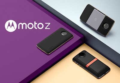 Lenovo Announces Modular Moto Z; SD820, 4GB RAM, 5.5-inch QHD Display, 13MP Camera with OIS
