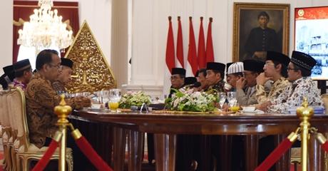 Hargai Peran Ulama Dalam Membina Umat Islam, Ini Kata Presiden Jokowi