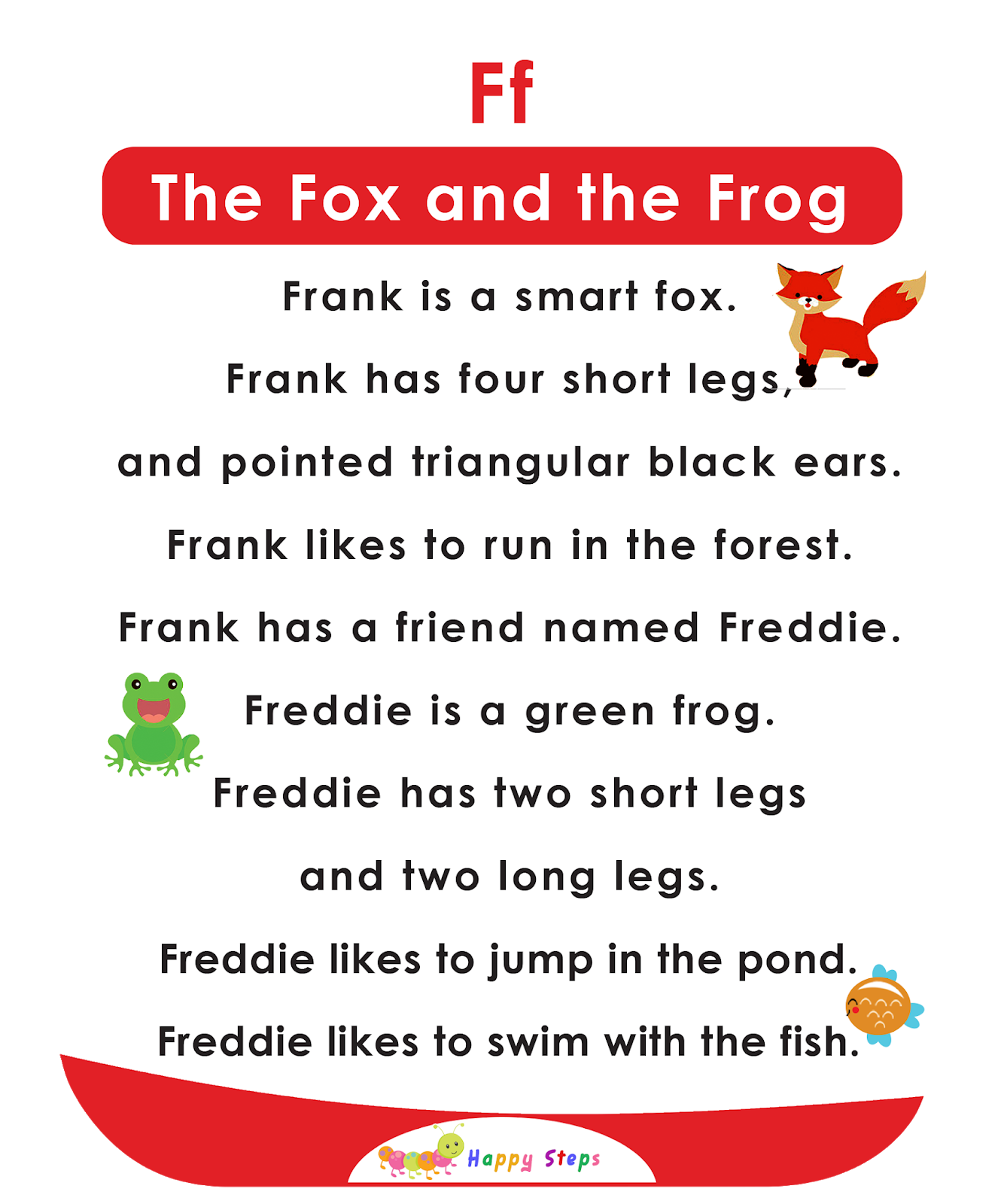 The Fox And The Frog Alphabet Stories