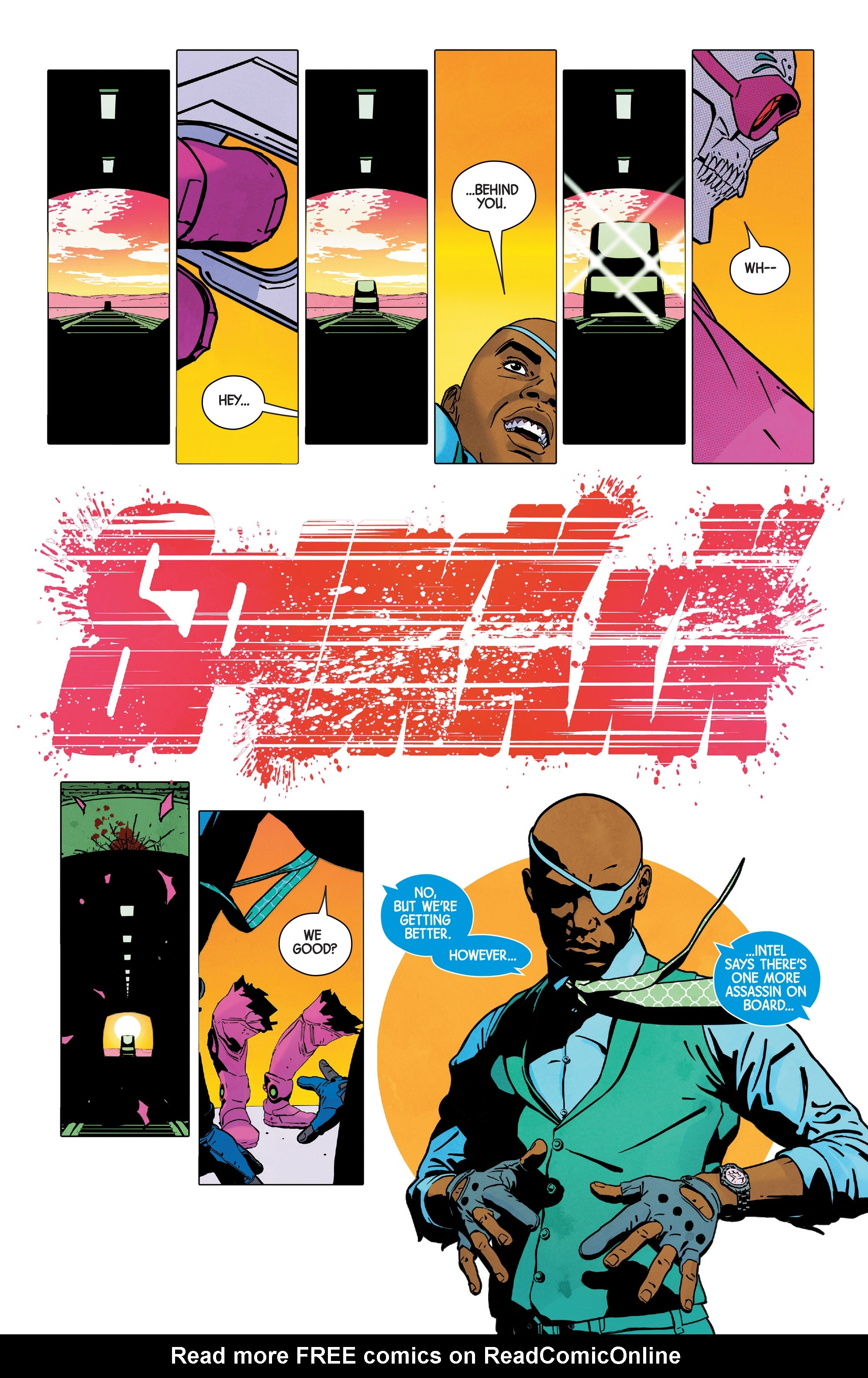 Read online Nick Fury comic -  Issue #3 - 14