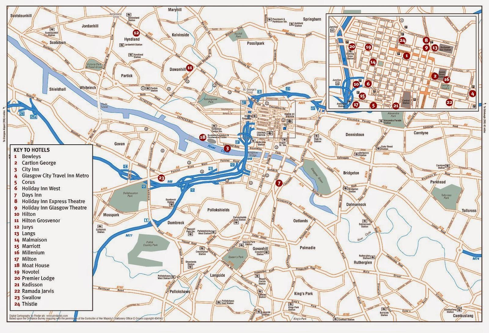 Map of Glasgow, Scotland - Free Printable Maps Glasgow Hotel Map on southend airports map, kiev map, paris map, zurich map, novosibirsk map, port antonio map, birmingham map, zelienople map, edinburgh map, marseille france map, dublin map, red road map, europe map, united kingdom map, ferrum map, loch ness map, wales map, fort thomas map, scotland map, prague map,