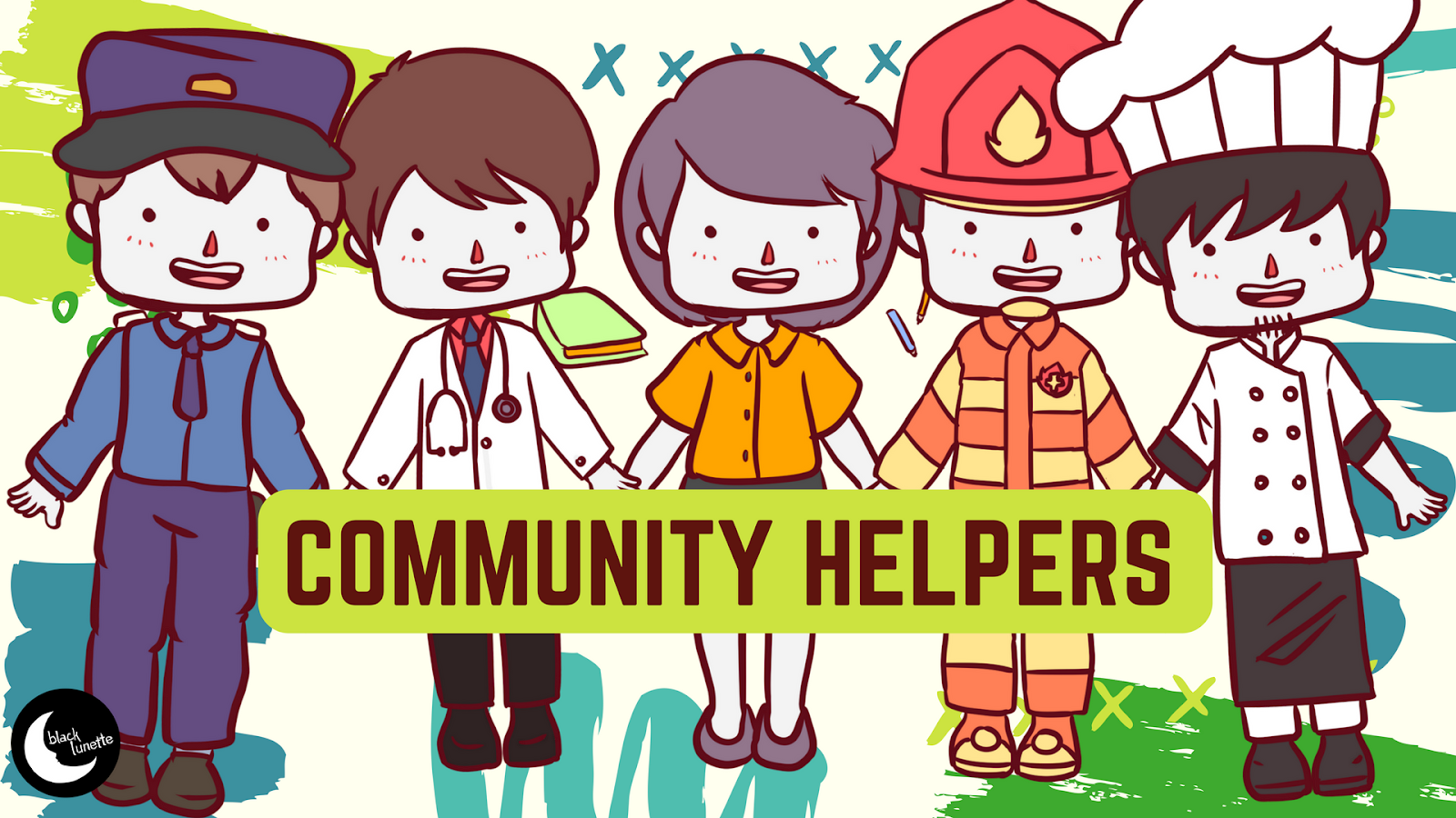 hight resolution of community helpers clipart free download