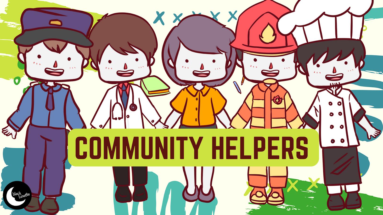 community helpers clipart free download [ 1600 x 900 Pixel ]