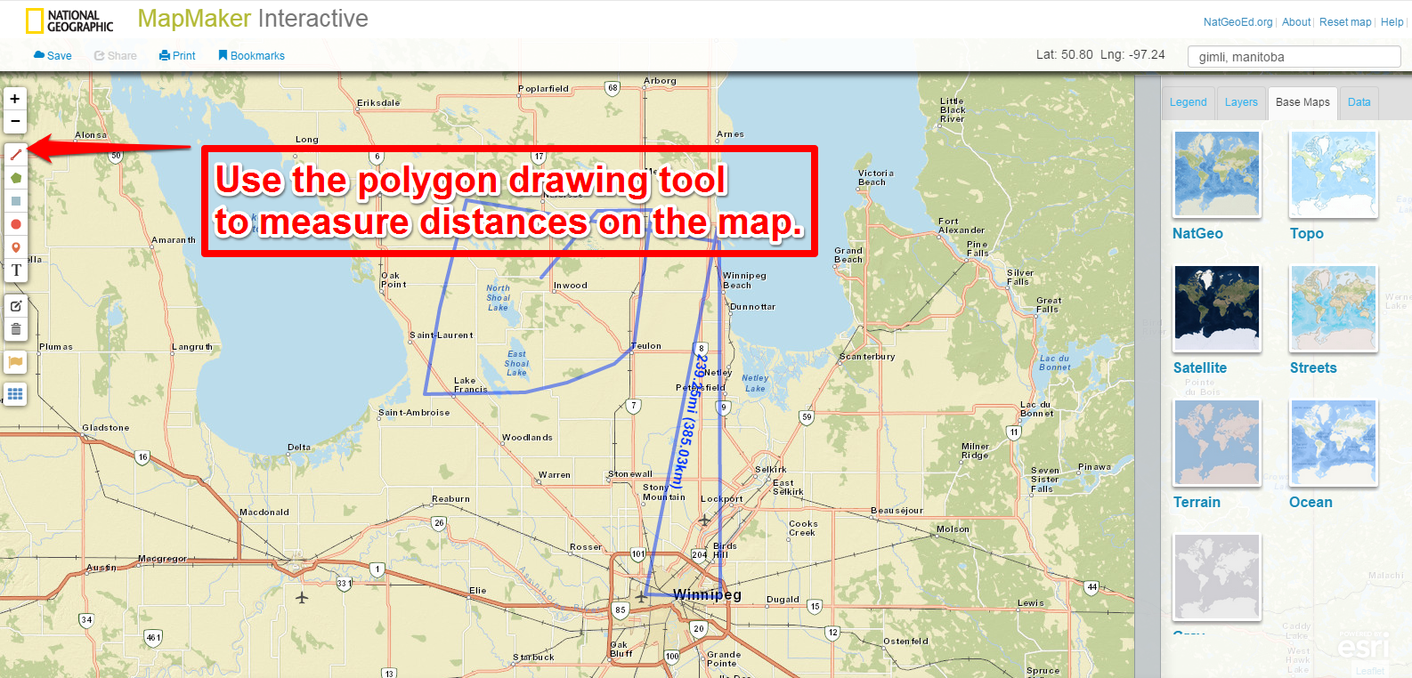 Free Technology for Teachers: Measure Distances Between ... on free map design, free map game, free trip maps, free concept maps, web mapping, free art software, free print color world map, free map editor, d d maps maker, yahoo! maps, free outline maps, free map making program, free map art, free map generator, free mind map, zygote body, free interactive world map, google maps, free printable us map, free map creator, free map designer, free dungeon maps, free rpg city map, free map software,