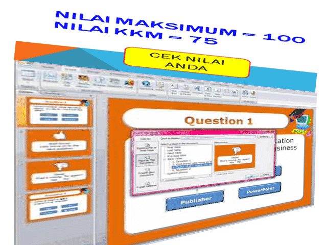 Download Aplikasi Kuis Interaktif Berbasis Microsoft Powerpoint