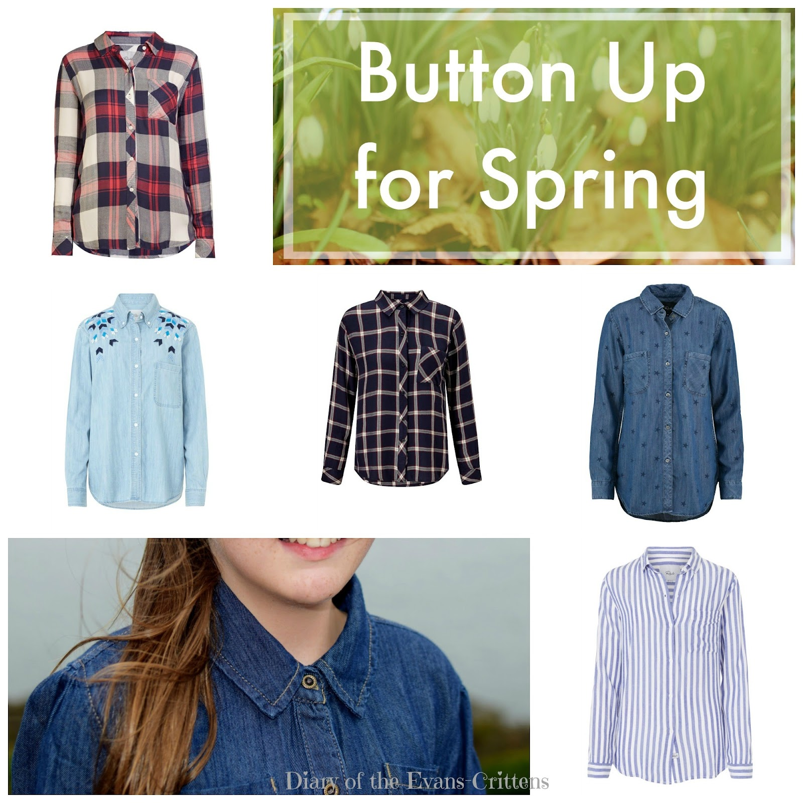 , Style:  Button Up –  Five Statement Shirts for Spring