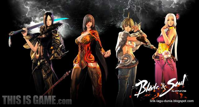 Blade and Soul - Karakter dalam anime Blade and Soul