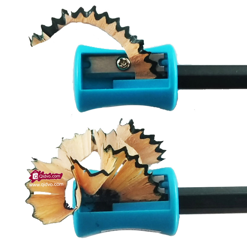 Rautan Pensil Serutan Pensil Sharpener Satu Lubang