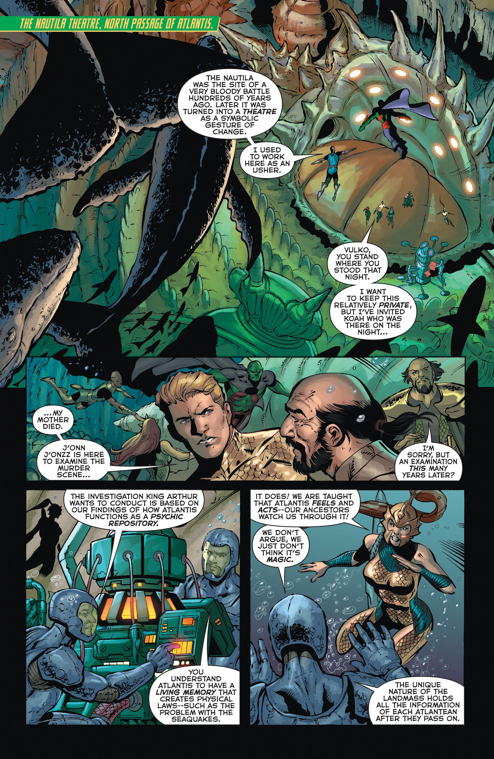 Read online Aquaman (2011) comic -  Issue #36 - 6