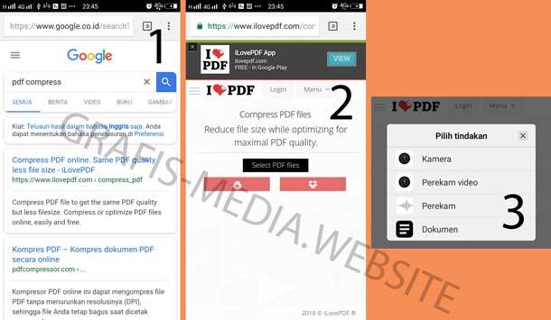 cara menyatukan file pdf di hp android