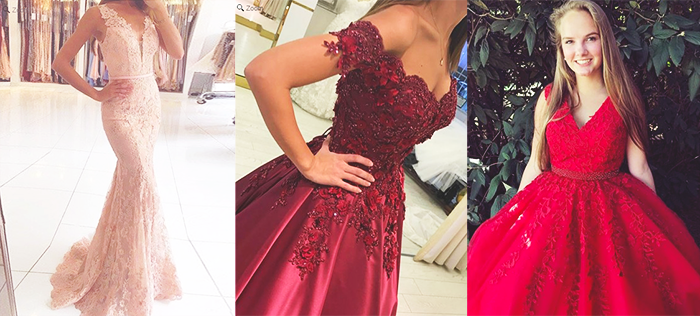 Simple dress Prom dresses