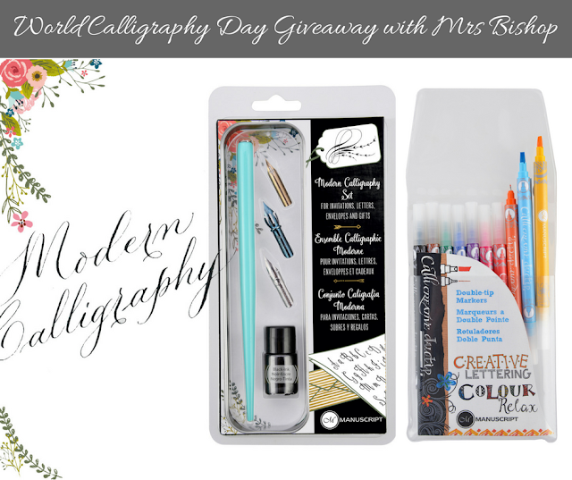 Win a Manuscript pen prize bundle on World Calligraphy Day