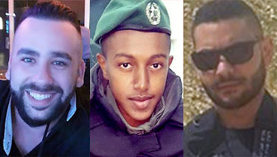 Terrorista palestino mata 3 israelenses