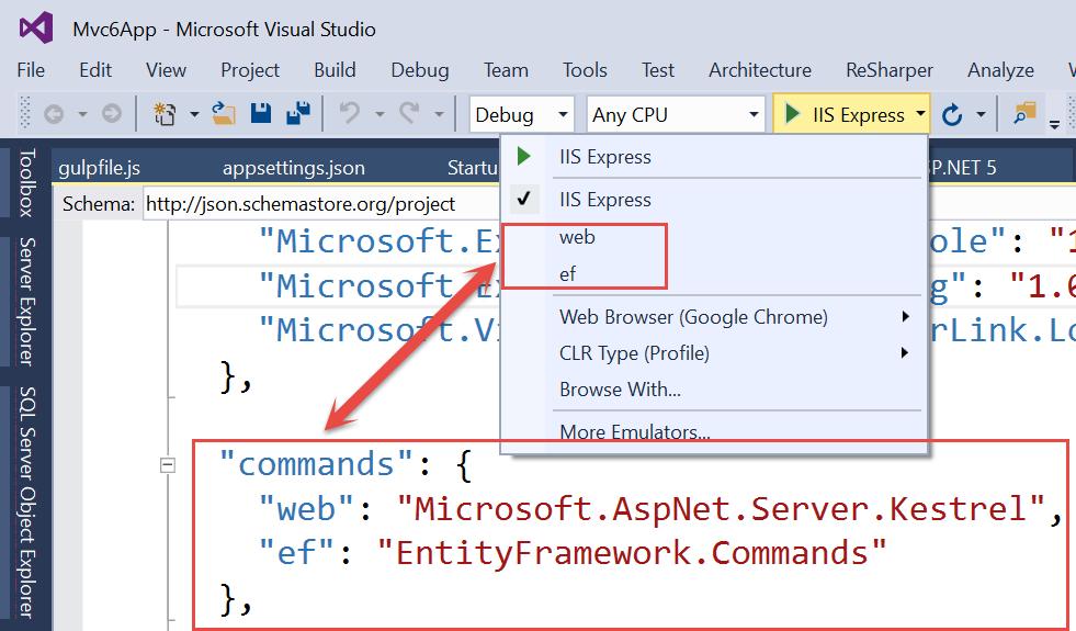Adam Tuliper's Development Tips: Understanding ASP NET 5 and  NET Core