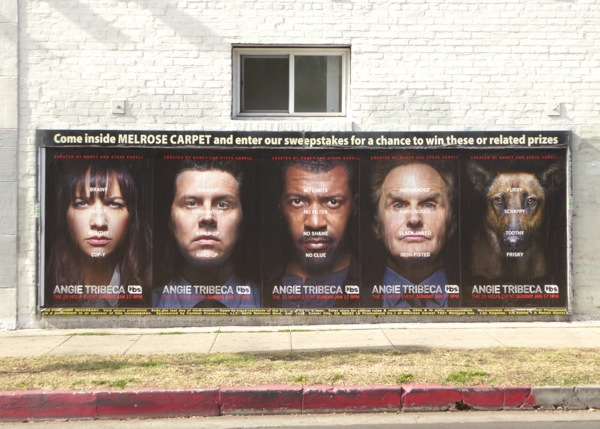Angie Tribeca series street posters