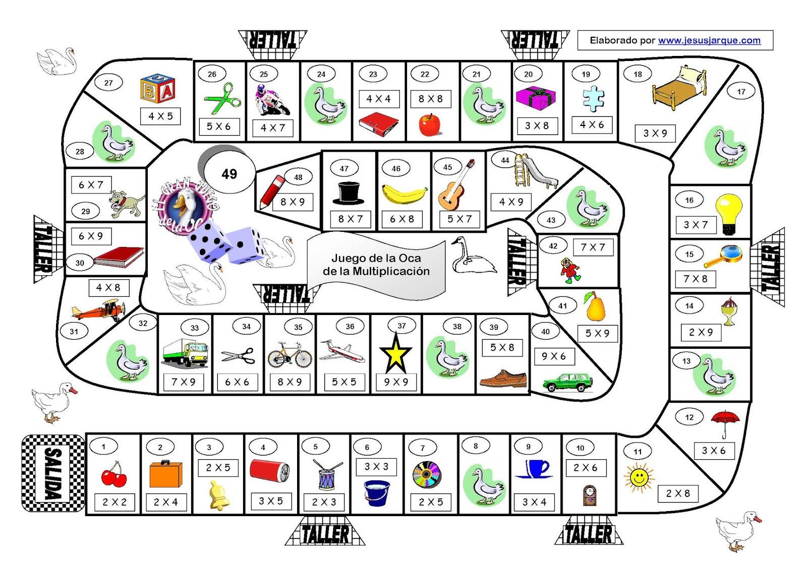 Aprende Con Tamy Juegos De Mesa Matematicos