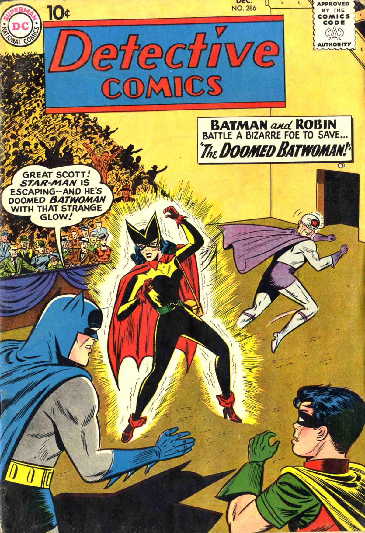 Detective Comics (1937) 286 Page 1