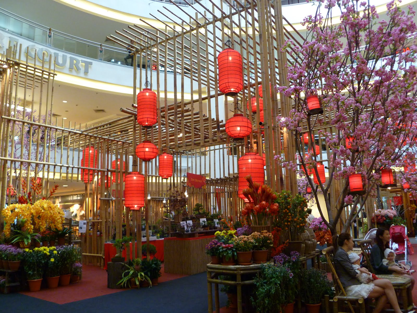 Swinging By: Mall Décor Celebrating Chinese New Year