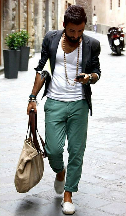 Men S Bohemian Fashion For Summer Men S Boho Bohemian