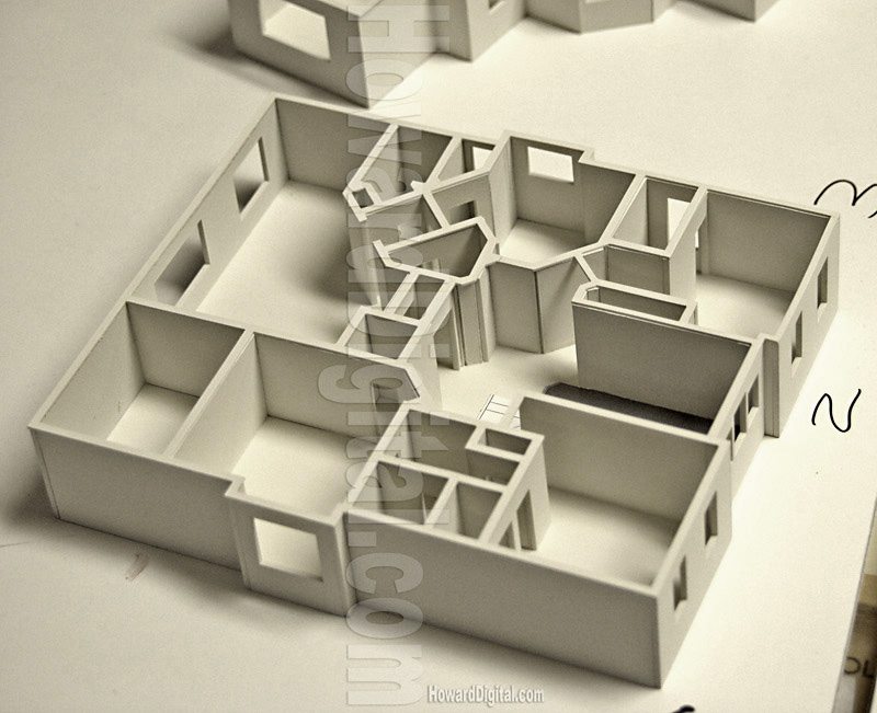 how to model a building