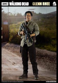 "Nuevas imágenes de Glen Rhee 1/6 Scale Figure de ""The Walking Dead"" - ThreeZero"