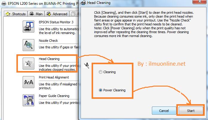 Cara Menghilangkan Garis Pada Printer L220 L210 L310 Dan Seri L Lainya