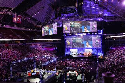 Międzynarodowe zawody w grę Dota2 (2014 rok); zdjęcie: wikipedia Międzynarodowe zawody w grę Dota2