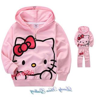 Gambar Jaket Hello Kitty Untuk Anak 4