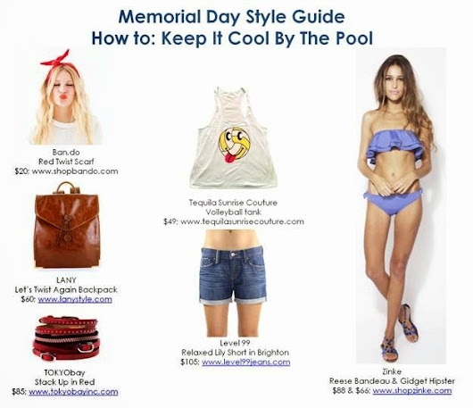 Memorial Day Style Guide 2014