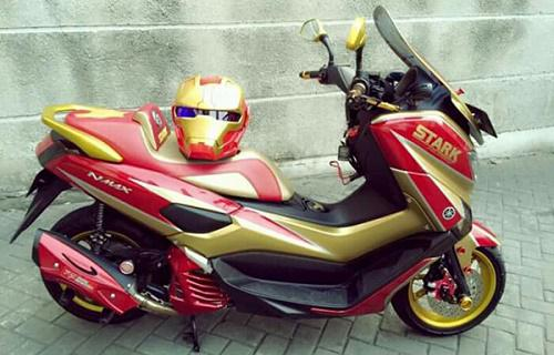 Modifikasi Motor NMax Iron Man