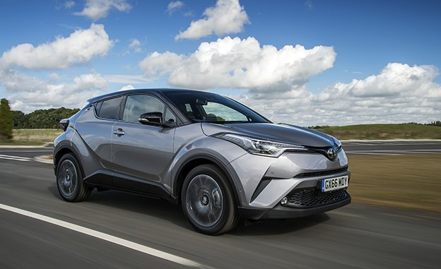 2017 Toyota C-HR MPG-The Spec