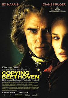 Cartel de cine: Copying Beethoven