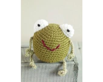 free crochet amigurumi frog patterns