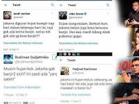 Menjual 'Kesombongan' Soal Banjir Untuk Kepentingan Politik Itu Cetek Banget, Sob!