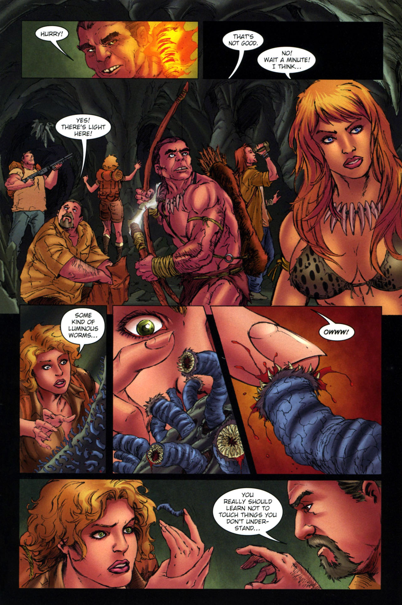 Read online Jungle Girl comic -  Issue #4 - 18