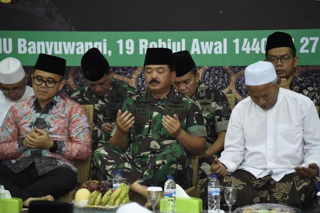 Panglima TNI Silaturahmi Dengan Ulama Banyuwangi