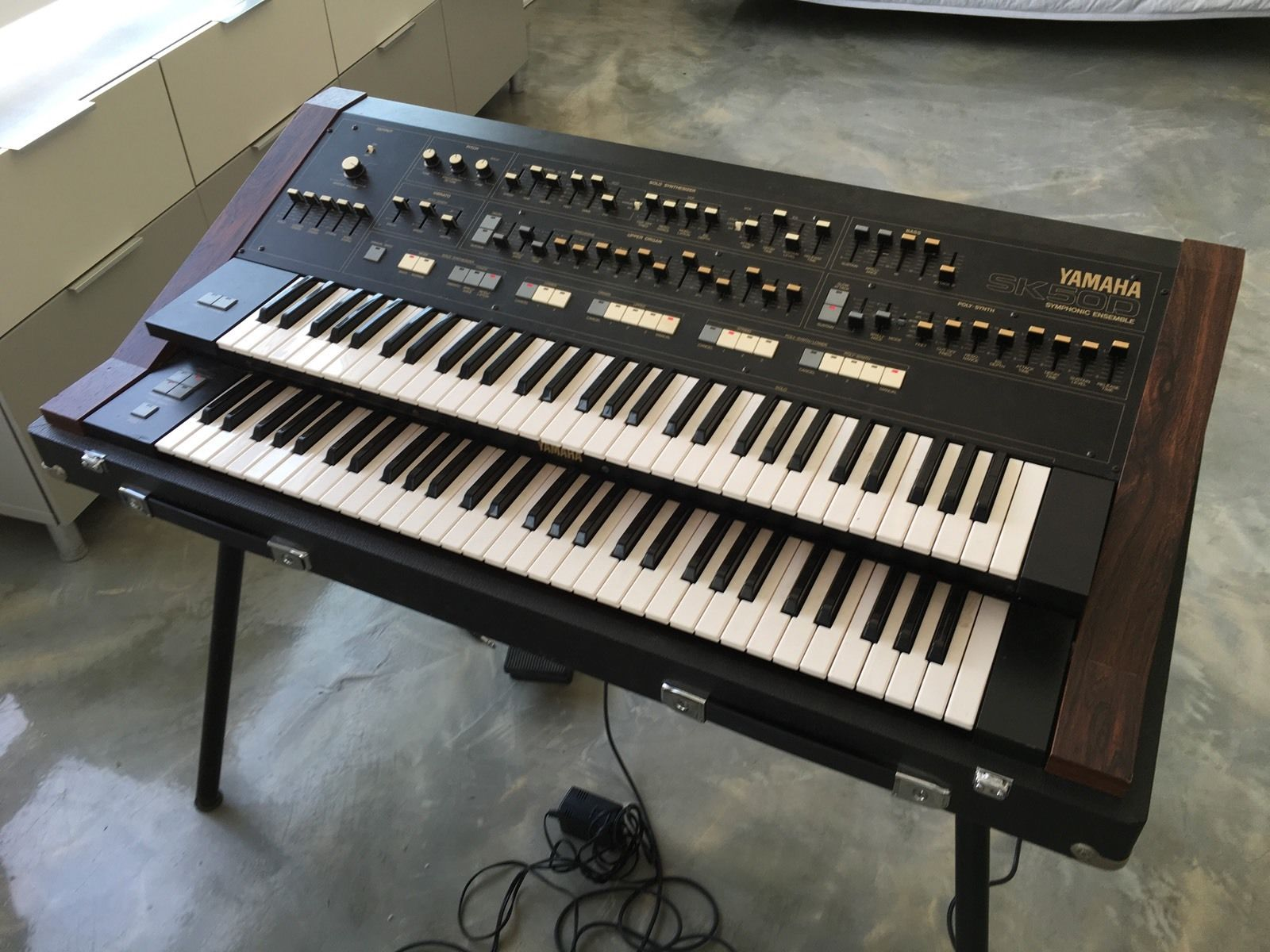 Hard Case Yamaha Tyros   Synth Keyboard