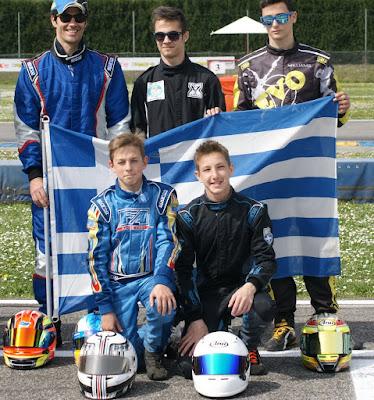 Διεθνής διάκριση για το ελληνικό Karting!