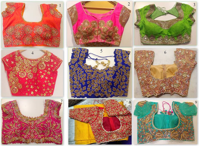 Blouse Designs by Shashi Vangapalli