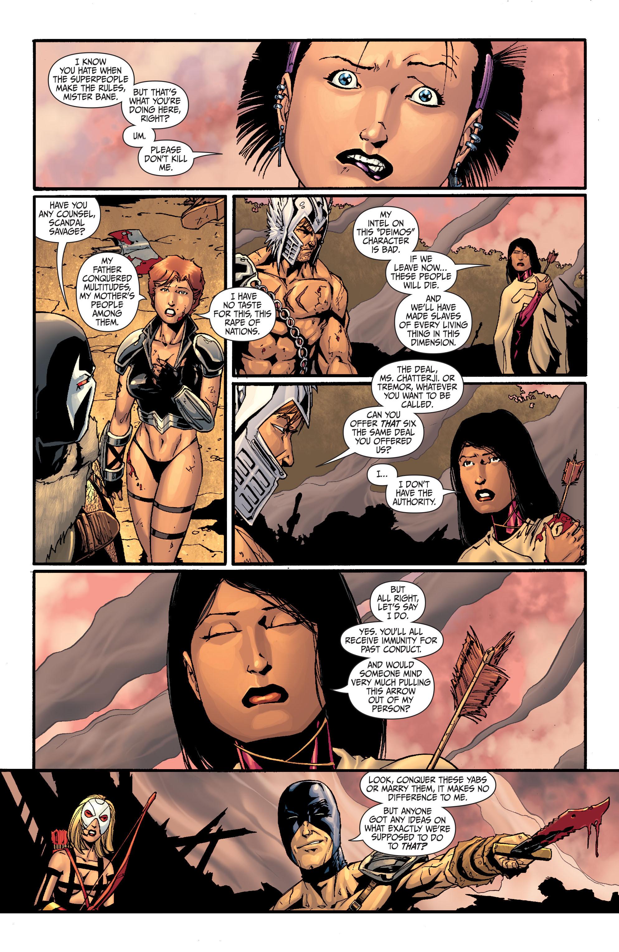Read online Secret Six (2008) comic -  Issue #28 - 13