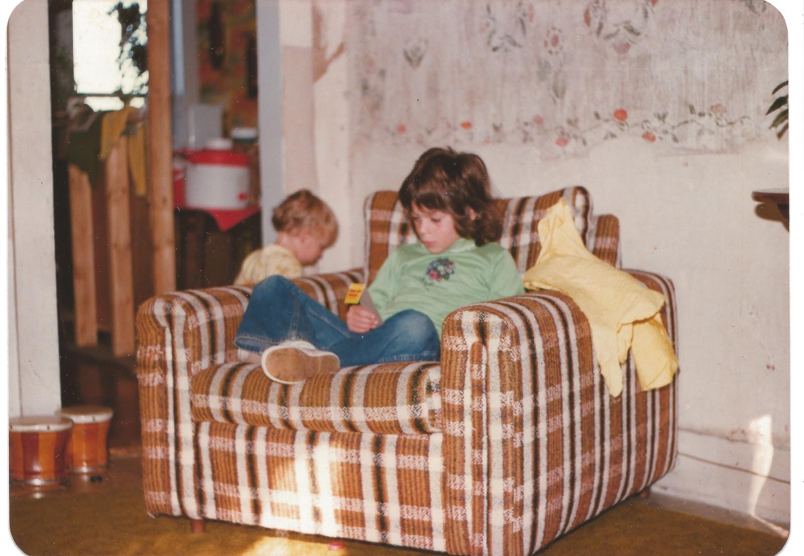 My brother and I circa 1976 © Diana Sherblom