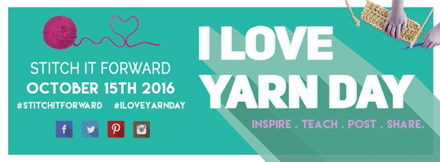 I love yarn day 2016!