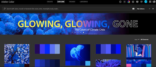 Situs inspirasi kombinasi warna terbaik