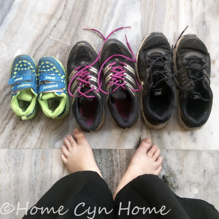 We all have different feet, different needs and different fitness levels, the right pair of running/walking shoe is an absolute must.